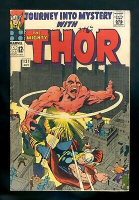 JOURNEY INTO MYSTERY #121 Marvel 1965 VG/FN