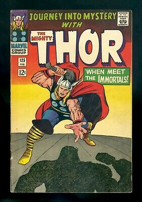 JOURNEY INTO MYSTERY #125 Marvel 1966 FN-