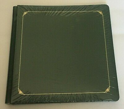 NIP Creative Memories 12X12 Evergreen Green Album with White Pages inside
