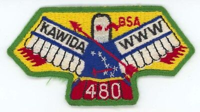 Kawida 480 S11a Order of the Arrow Flap Boy Scouts Patch - Mint