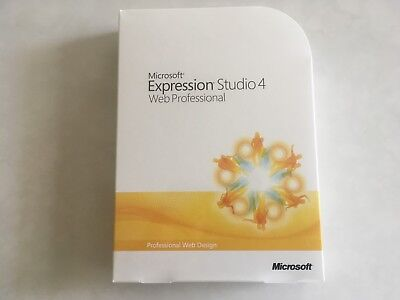 Microsoft Expression Studio 4 Web Professional SOFTWARE (CD)