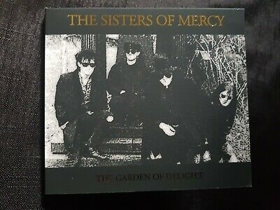 Sisters Of Mercy Garden Of Delight Rare Digipac Cd New