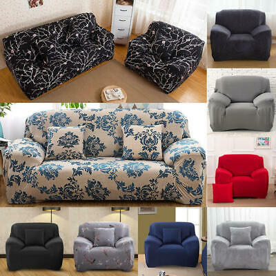 Easy fit Stretch Sofa Slipcover Stretch Protector Soft Couch Cover 1-4 Seater UK