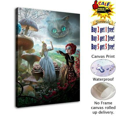 Alice In Wonderland Painting Home Decor Hd Canvas Print Wall Art Picture 103097 Vintage Nautical Home Decor Posters Prints Home Decor Posters Prints