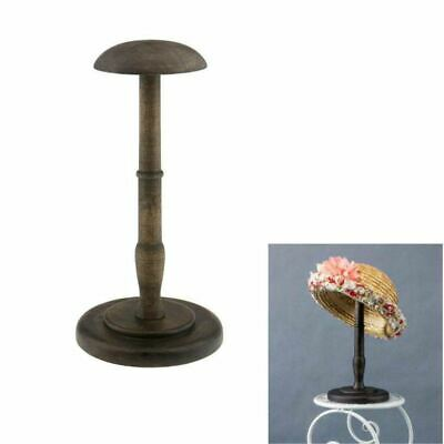 Vintage Wooden Hat Holder Wig Holder Display Stand Display Stand W1R7