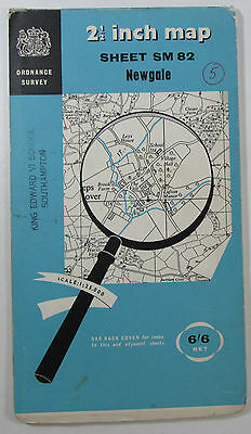 1965 Old Vintage OS Ordnance Survey 1:25000 First Series Map SM 82 Newgale
