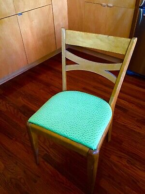 Mid-Century Modern Heywood Wakefield Single Bow Side/Dining Chair