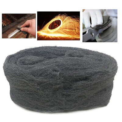 Steel Wire Wool 3.3m Grade 0000 For Furniture Polishing Rush Cleaning Remover UK