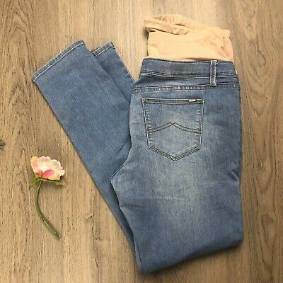Jeanswest Maternity Skinny Jeans Sz 14 Light Wash EUC Stretch