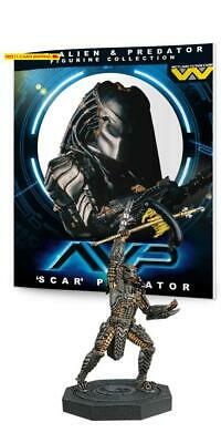 Eaglemoss Alien  Predator Figure Collection #1: Scar Predator Resin Figurine