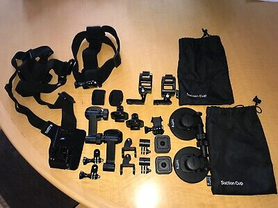 2 GoPro HERO5 Session Action Cameras (along with various mounts)