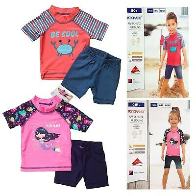 Toddler uv Protective Clothing Sun Protective Clothing Beach Clothing 74/80
