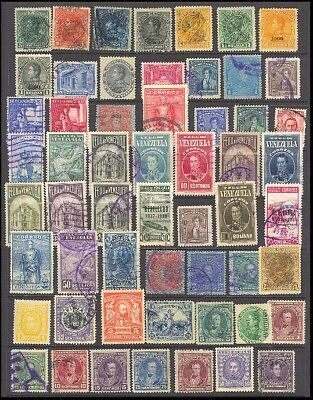 Venezuela Postage Stamps - Mixed Collection 56 Diff. #514935