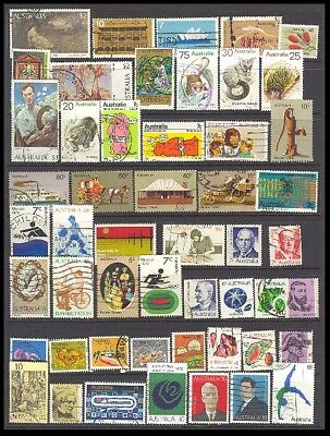 Australia Postage Stamps - Mixed Collection 51 Diff. #516102