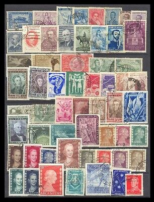 Argentina Postage Stamps - Mixed Collection 58 Diff. #519238
