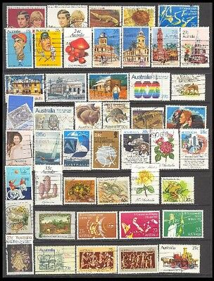 Australia Postage Stamps - Mixed Collection 46 Diff. #516125
