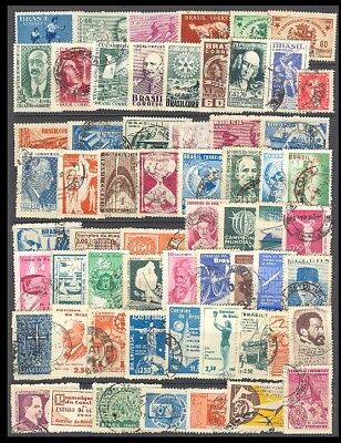 Brazil Postage Stamps - Mixed Collection 61 Diff. #518698