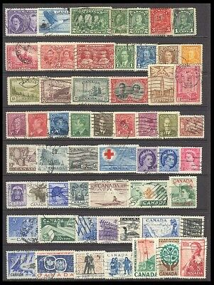 Canada Postage Stamps - Mixed Collection 58 Diff. #516740
