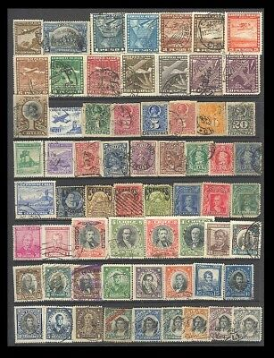 Chile Postage Stamps - Mixed Collection 64 Diff. #518719