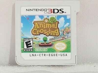 Animal Crossing: New Leaf (Nintendo 3DS, 2013) Cart Only