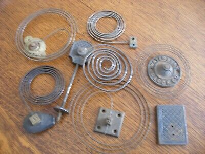 Antique Clock Gongs and Bits