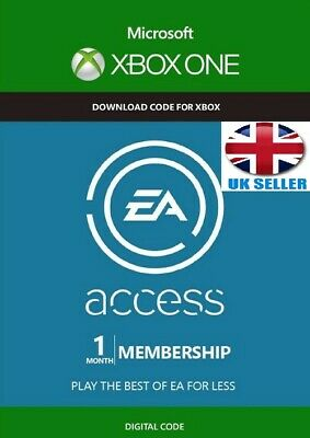 EA Access 1 Month (30 days) Subscription Key Code for Xbox One (Worldwide)