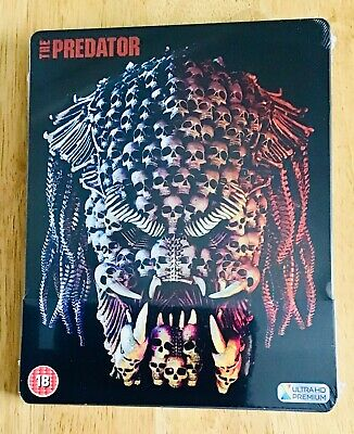 The Predator 4K Uhd+Bluray Steelbook Uk Zavvi Exclusive (2018) Brand New+Sealed