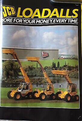 JCB Loadall Brochure/A1 Poster Early 80s