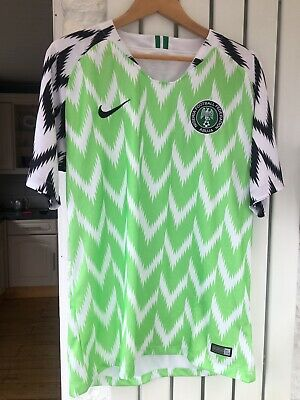 Nigeria Football Shirt World Cup 2018 Nike Large