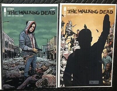 THE WALKING DEAD #191 2nd Print and 192 1st Print--- Death of Rick Grimes.🔥🔥