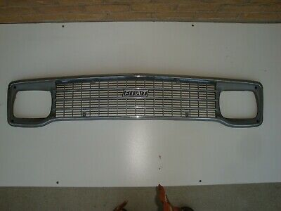 original fiat 128 berlina oldtimer front grill vintage perfect condition