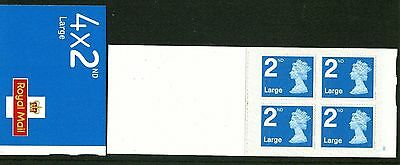 2016:  4 x 2nd NVI (LARGE) WITH NEW FONT - CYLINDER BOOKLET - code M16L/F - SBP1