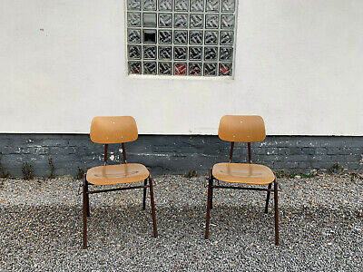 1 von 50 Industrie Design Stapelstuhl Industrial Cafe Bar Vintage Stuhl Alt