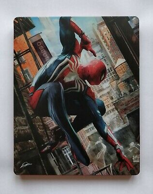 Marvel's Spider-Man PS4 Collectors Steelbook (No Game) - Perfect Condition