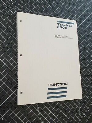 Huntron Tracker 2000 Operation and Service Manual, complete
