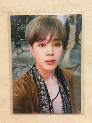 BTS JIMIN LIVE TOUR LOVE YOURSELF JAPAN FC Limited Official Photo Card