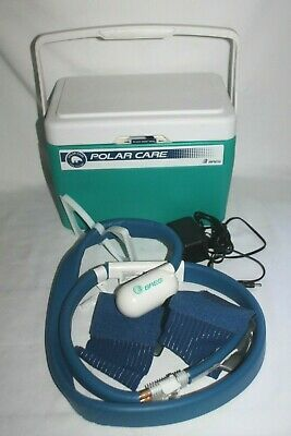 Breg Polar Care 500 Cold Therapy Cooler Unit Wrapon Knee Pad-Works Great!
