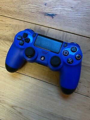 Sony Playstation 4 wireless Controller PS4 DualShock 4 BLUE NO RESERVE!