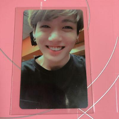 BTS JUNGKOOK Love Yourself World Tour NEW YORK NY DVD Official Photo Card LYS