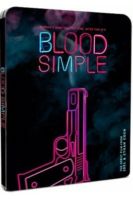 Blood Simple Uk Exclusive Limited Edition Bluray Steelbook **New+Sealed**