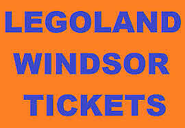 2 Legoland Windsor Tickets For Monday 9th September 9/9/19 RRP £120