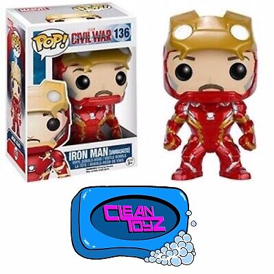 Funko Pop! Captain America: Civil War - Iron Man Hot Topic Exclusive IN STOCK