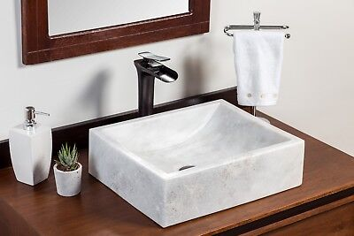 Natural Stone Vessel Sink - Greece Marble