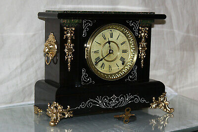 SETH THOMAS Mantel Antique Clock c/1909-  RESTORED --