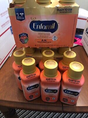 ENFAMIL A.R. READY TO USE ( 18) 8 OZ BOTTLES Exp 5/1/20