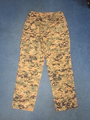FROG Combat Ensemble Trousers, Woodland MARPAT, Sz: Medium Long