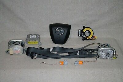 2012 Mazda 6 Sedan 12 Driver Wheel SRS Clockspring Seat Belt Module #7003