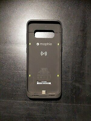 mophie Juice Pack Battery Case 2950mAh Qi Wireless for Samsung Galaxy S8 - Black