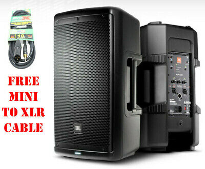 """JBL EON610 10"""" Two-Way Speaker Self-Powered Sound Reinforcement & Free Cable"""