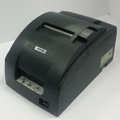 USED Epson TM-U220PB M188B ETHERNET Kitchen Impact Dot Matrix Receipt Printer